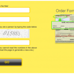 Order Form Sign In