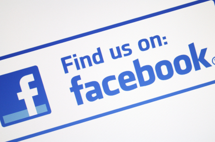 Yellow Pages find us on facebook