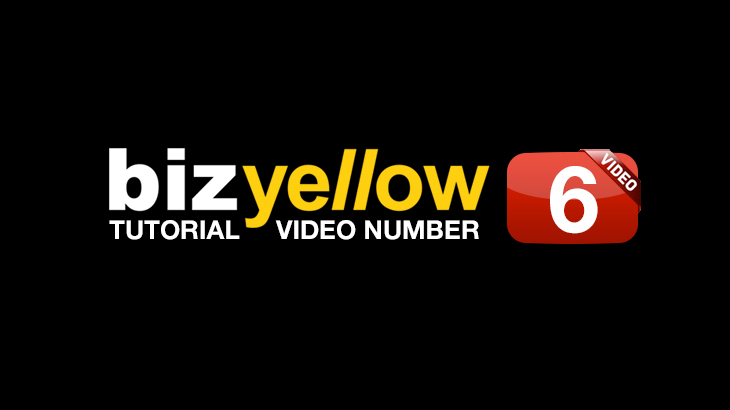 Yellow Pages United_BizYellow Tutorial 6