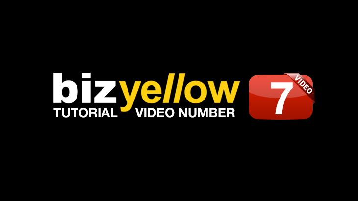 Yellow Pages United_BizYellow Tutorial 7