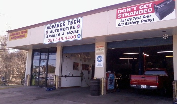 Advance Tech Automotive on Yellow Pages United